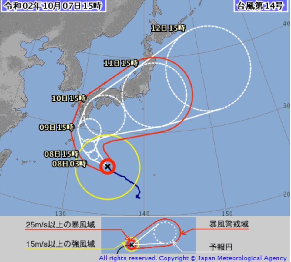 台風 情報 ecmwf ヨーロッパ