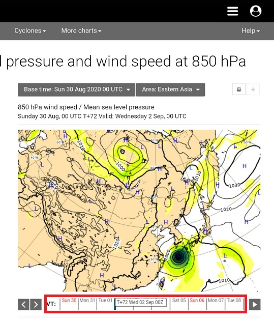 ヨーロッパ 台風 情報 ecmwf 世界一当たる天気予報ECMWFの天気予報の見方